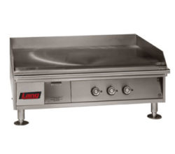 Marine Countertop Griddle, Solid-State Controls
